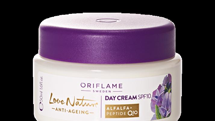 Az Oriflame Love Nature öregedésgátló