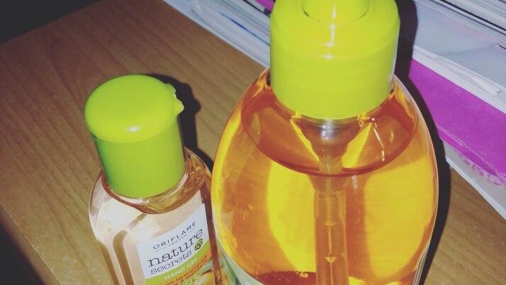 Nature Secrets termékcsalád: folyékony szappan és antibakteriális kéztisztító