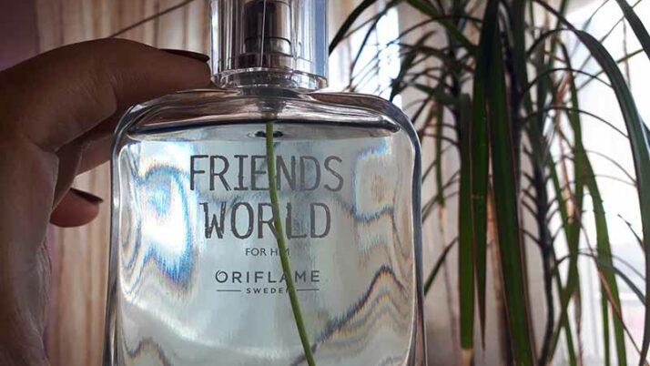 Oriflame férfi parfüm