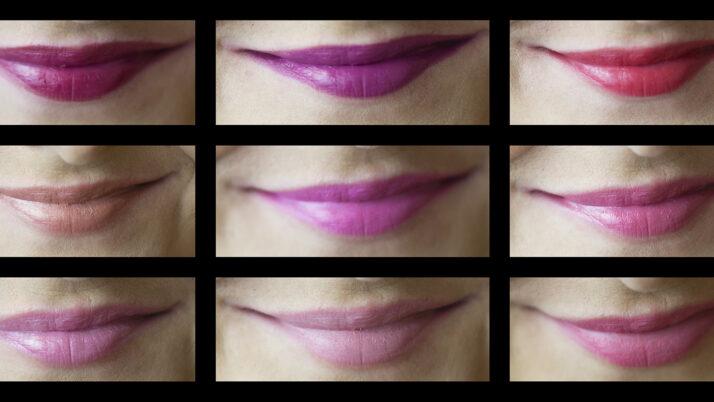 Oriflame rúzs teszt